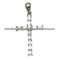 diamond pendant set designs, diamond cross pendant
