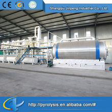 Quality OEM higher oil yield equipment for recycling plastic/rubber/tyre