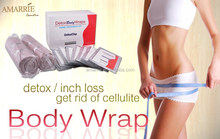 Hot Selling New Products Private Label Herbal Fat Burning Cellulite Loss Slimming Detox Body Wrap Bandages
