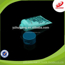 High quality plastic tube with long nozzle cap