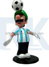 OEM plastic super mario action figure toy,PVC super mario action toy