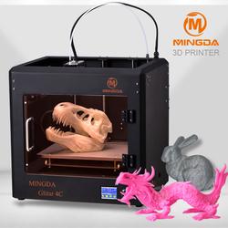 2015 new Hot sale MINGDA 3d printer fdm/ 3d printing machine/ 3d printer supplies