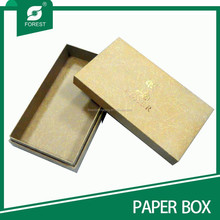 CUSTOMIZED GOLD STAMPING LUXURY PACKAGING BOXES