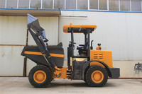 5 ton loading site dumper with 4 wheel drived for rough terrain transporting
