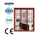 dormitorio doble de metal de la puerta y puerta del armario los diseños