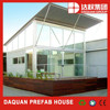 2015 new light steel structure with sunny window prefab house