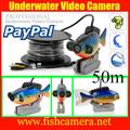 50m 600 tvl color ccd câmera de vídeo subaquático pesca sistema de câmera sem monitor tela kamera