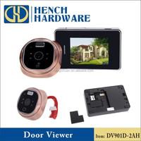 Video camera door peephol camera wireless