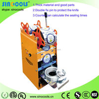 High quality small laboratory use automatic plastic filling and sealing machine WY-802D-12