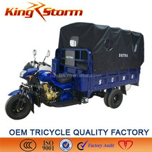 China Supplier 250cc/300cc Water Coolers Cargo Tricycle Passenger and Cargo Motorized Tricycle