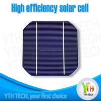Online buy best 6inch 4.3-4.7w monocrystalline solar cell price for solar panel/price per watt solar panel