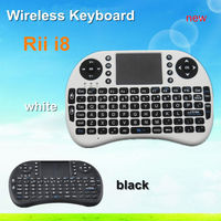 2015 Hot Sell Portable Mini Keyboard Rii Mini I8 Wireless Bluetooth 2.4G Keyboard With Touchpad For Pc Pad Andriod Tv