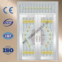 Yongkang Stainless Steel cheap metal doors for flat YZ-7012