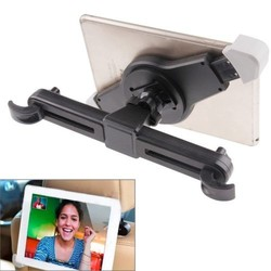 360 Degrees Rotation Universal Car Headrest Mount Holder for iPad 2/ 3/ 4