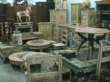 Wooden Painted Rustic Furniture