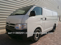 New Car Toyota Hiace Delivery Van