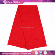 Manufacturer supply color can customized lace fabric wholesale