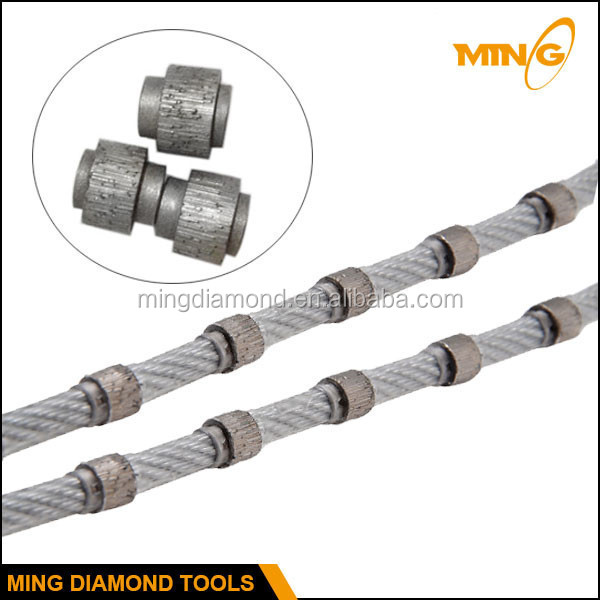 Diamond Rope Saw For Marble Cutting Stone Profiling Wire Saw - Buy ...