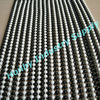 pop 6mm white&black color metal ball chain string curtain