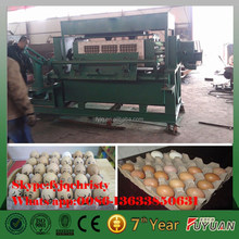 henan zhengzhou semi-automatic small egg tray making machine with new technolodge