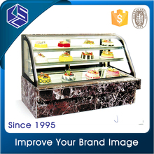 Famous brand customized cake display fridge/bakery showcase /cake display chiller