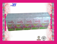 Travel Application and mix wood pulp Material wholesale handkerchief