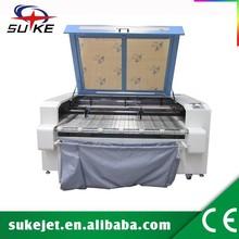 Auto función de alimentación CO2 máquina de corte láser / corte por láser de tela
