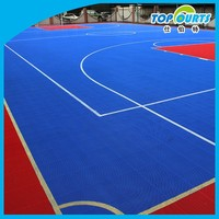 Hot sale non-slip long using life basketball court floor mat