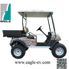 Elektro-Buggy jagd mit ladepritsche, elektrische jagdfahrzeug mit ladepritsche, zwei sitze