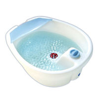 Foot spa with vibration and infrared function