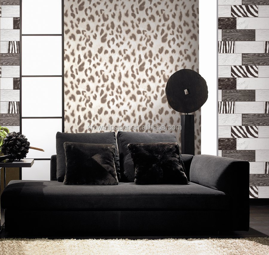 3d Leather Effect Wallpaper