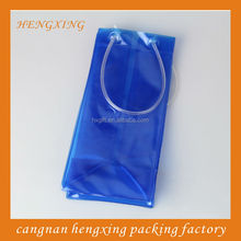 1.5L Bottle Red Wine PVC Cooler Bags With Strong Handle