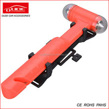 high quality car/bus life hammer with bracket CE certification