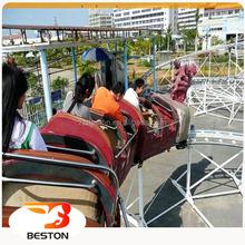 Fashion fairground sliding dragon roller coaster kids ride for sale