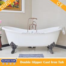 freestanding bathtub enamel/ cast iron bathtub lions feet