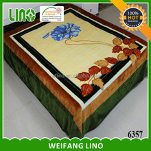 new design acrylic blanket raschel blanket home polyester blanket