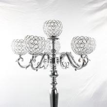 Table top chandelier/Hanging crystal chandelier/wedding floor chandelier