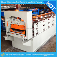 china manufacturers of YX51-380-760 roof panel forming machine, boltless roofing forming machine, roll former$1000-30000/set