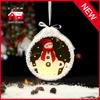 New Design Christmas Gift Glass LED Ornament