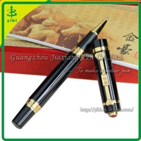JHR-C197 high quality metal logo roller heavy pen