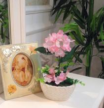 fabric home and wedding decoration artificial flower Purple Silk Flower hydrangea flower