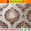 Home decoration marble effect glitter wallpaper for interior decoration