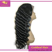 tangle & shedding free virgin brazilian hair 100% density full lace wig