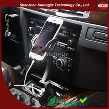 High Quality Fly Phone Cradle Car Charger,Car Holder With Usb Power,Usb Car Charger Holder