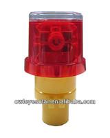 solar warning light (4LED) solar powered caution light traffic safety warning light