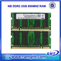 China best ram memory laptop PC2-6400 800mhz 2gb ddr2