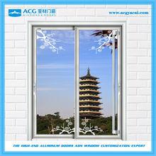 Foshan factory waterproof sound-insulation aluminium sliding doors