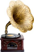 CD player/usb play/fm radio/bluetooth speaker phonograph Vinyl machine