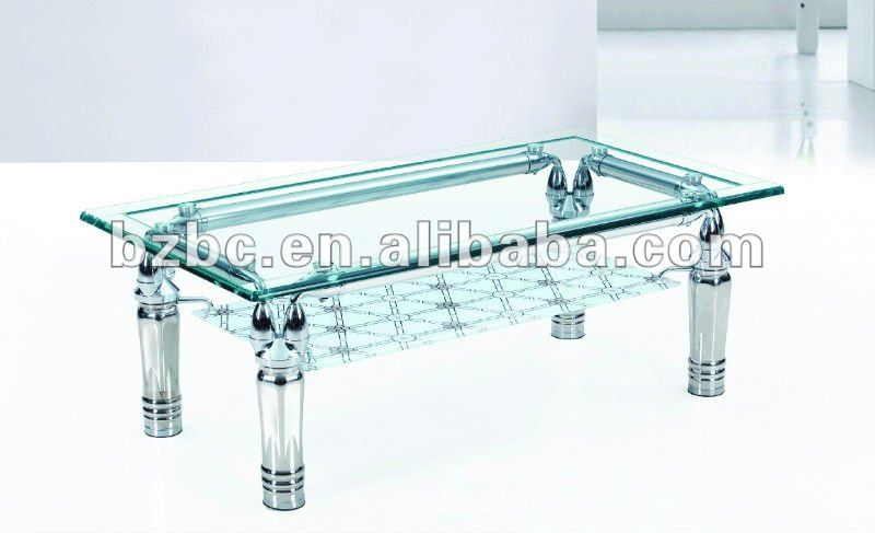 Center Table With Glass : Living room glass top center table coffee tables, View living room ...