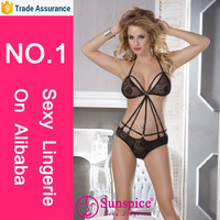 sunspice new design sexy floral lace sex teddy tempting nude women sexy mature teddy